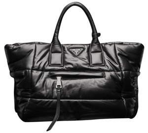 ba1e2e13832942 Added to Shopping Bag. Prada Tote in Black. Prada Nappa Leather Bomber ...