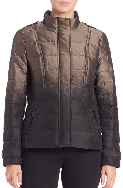 Item - Silver Green XL Women's Metallic Dalesbury Ombré Puffer New Jacket Size 16 (XL, Plus 0x)