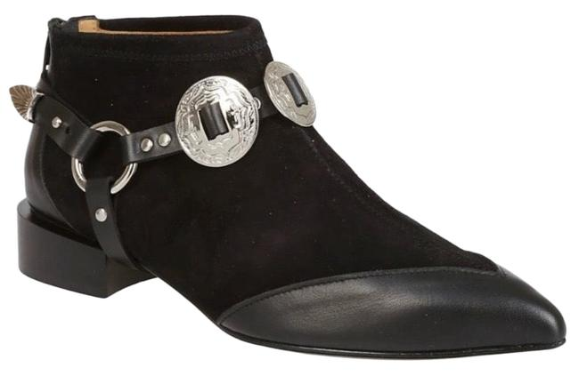 Item - Black Suede Ankle Boots/Booties Size US 6 Regular (M, B)