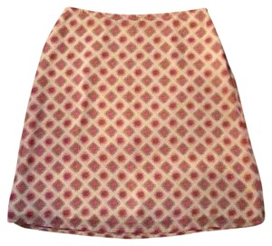 Old Navy Skirt Red and cream