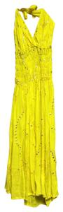 Unknown short dress bright yellow on Tradesy