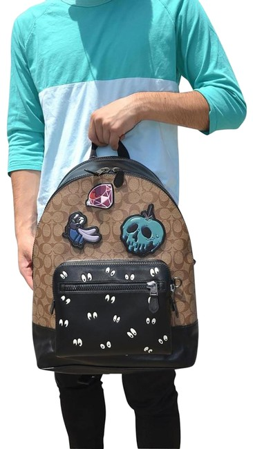 Item - Disney Patches West Signature 72954 Tan Leather Backpack