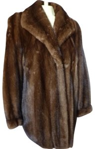 Perry Ellis Mink Jacket Mink Fur Coat