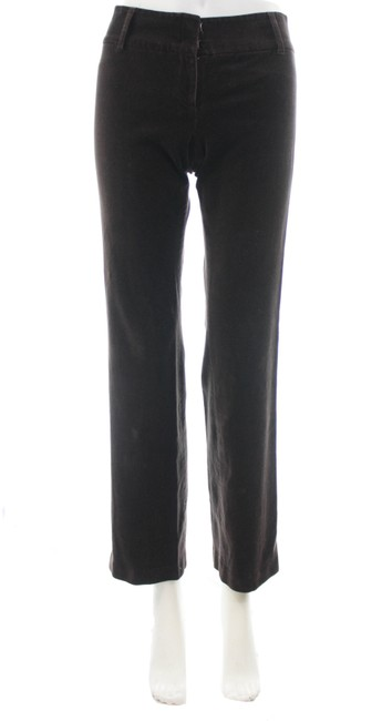 J.Crew Brown Velvet Pants Size 0 (XS, 25) J.Crew Brown Velvet Pants Size 0 (XS, 25) Image 1