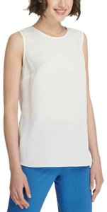 DKNY Polyester Top White