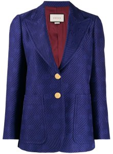 Gucci Royal Blue Blazer