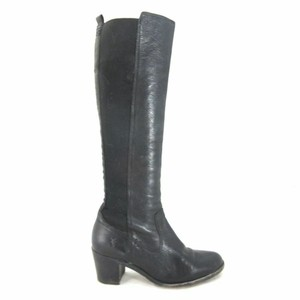 Frye Womens Pull On Black Boots