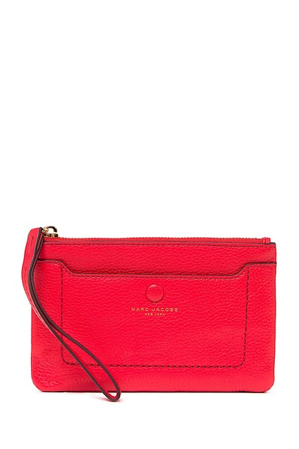 Item - Red with Tag Empire City Leather Wristlet Wallet