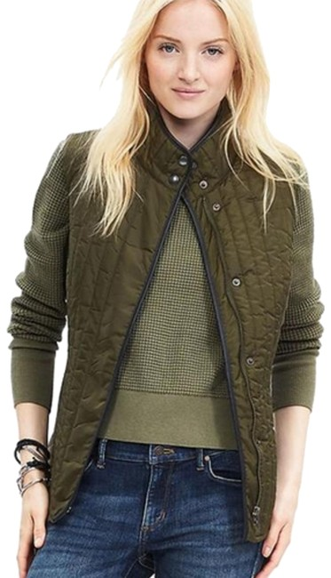 Item - Green XS Quilted Field Vest Size 2 (XS)
