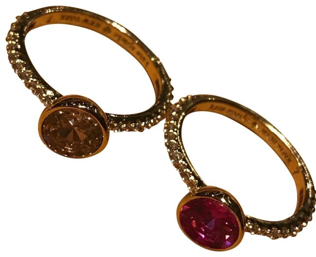 Item - Pink/Magenta Double Set By Ring