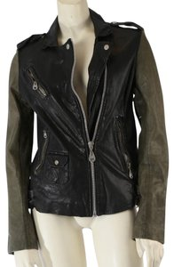 DOMA Leather Casual Motorcycle Jacket