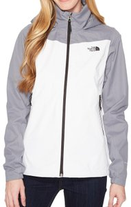 The North Face Resolve Color-blocking White Jacket