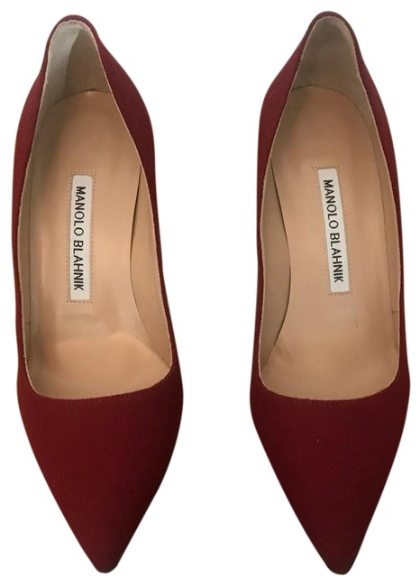 Item - Wine Bb Pumps Size US 5.5 Regular (M, B)