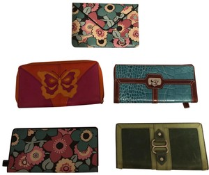Isabella Fiore Isabella Fiore lot of FIVE! wallets and pouch ( vintage)
