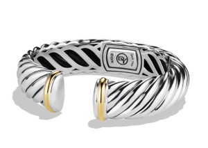 David Yurman David Yurman 15mm Silver Waverly Bracelet