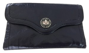 Marc by Marc Jacobs Marc By Marc Jacobs Indigo Patent Leather Totally Turnlock wallet
