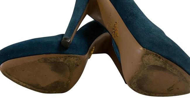Item - Turquoise/ Made In Italy Pumps Size US 6 Narrow (Aa, N)