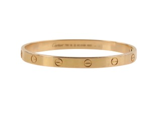 Cartier Cartier 18k Rose Gold Love Bracelet