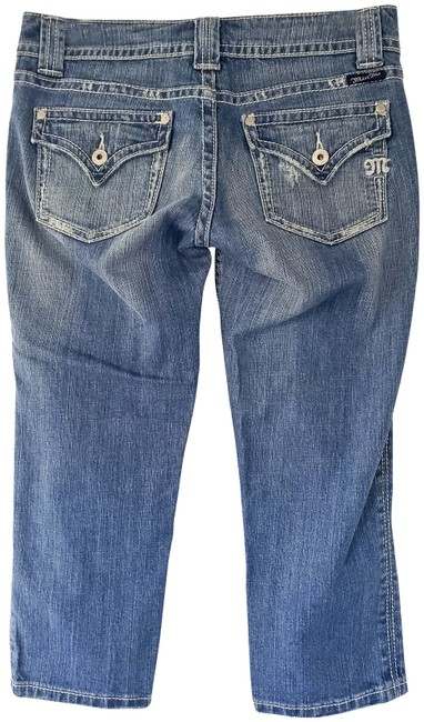 Item - Blue Medium Wash Capri/Cropped Jeans Size 29 (6, M)