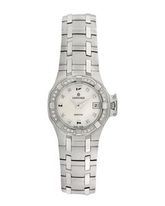 Concord Concord Concord Saratoga Stainless Steel & Diamond Watch, 25Mm