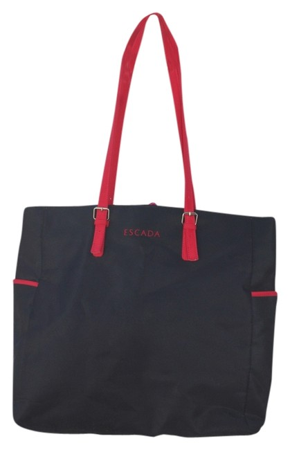 Item - Extra Large Excellent Condition Black and Red Tote
