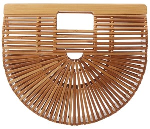 CULT GAIA Beige Clutch