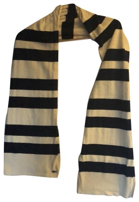 Item - Navy Blue and White Scarf/Wrap