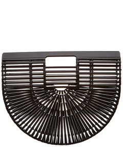 CULT GAIA Black Clutch