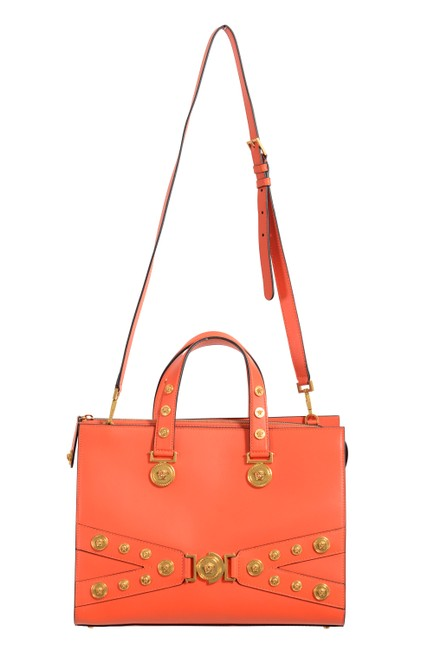 Item - Women's Tribute Satchel Handbag Orange Leather Shoulder Bag