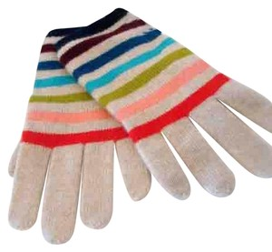 Tory Burch NWT TORY BURCH CASHMERE STRIPED SMARTPHONE GIFT GIVING GLOVES $150.00