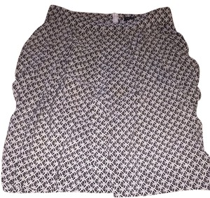 Pippa Skirt Black And White
