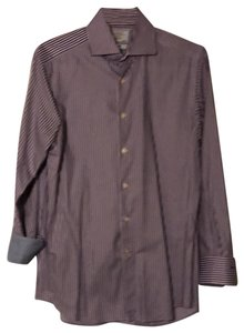 Charles Tyrwhitt Button Down Shirt Purple