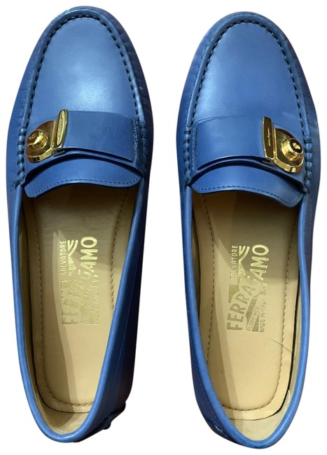 Item - Blue Flats Size US 6 Regular (M, B)