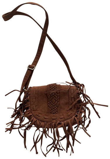 Purse Brown Tan Cross Body Bag