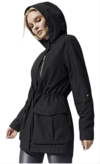 Item - Black Hailie Parka Coat Size 6 (S)