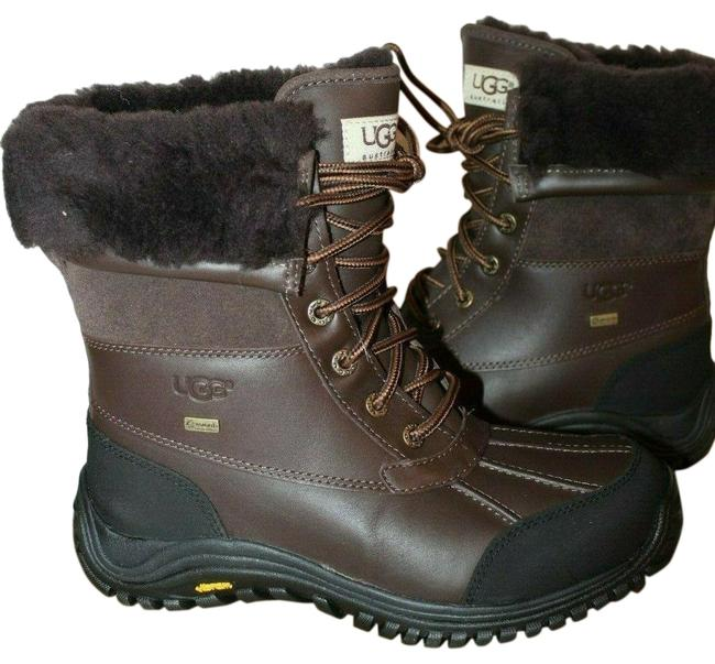 Item - Brown Adirondack Leather Snow Boots/Booties Size US 7 Regular (M, B)