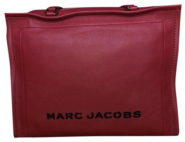 Item - Box Large Shopper Red Leather Satchel