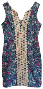 Lilly Pulitzer for Target short dress blue, pink, white on Tradesy