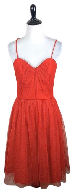 Item - Red By Watters & Watters Sleeveless Short Formal Dress Size 10 (M)