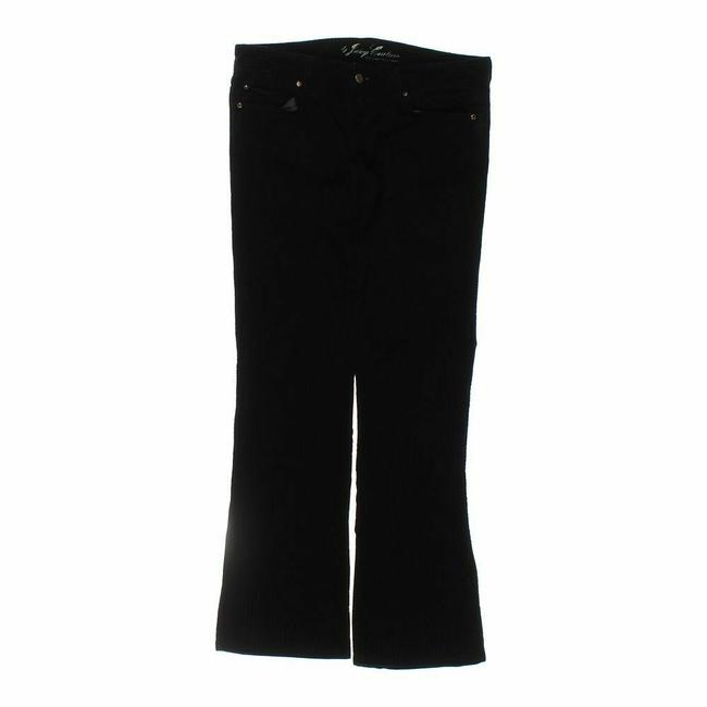 Item - Black Striated Corduroy Pants Size 8 (M, 29, 30)