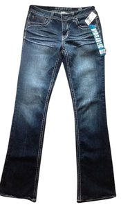 Hydraulic Boot Cut Jeans-Dark Rinse