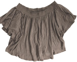 O'Neill Beachy Off The Shoulder Top Taupe