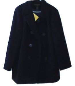 Centigrade Double Breasted Wool Pea Coat