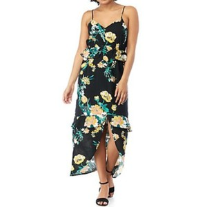 Black Floral Maxi Dress by Eyeshadow
