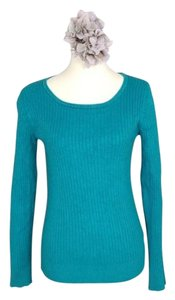 George Scoop Neck Long Sweater