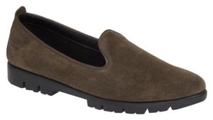 The Flexx Loafer Suede Slip On Leather Gray Flats