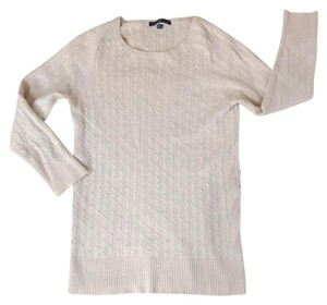 Gap Cable Knit Cable Knit Beige Sweater