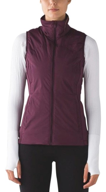 Item - Plum For Cold Vest Size 6 (S)