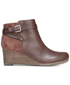 Dr. Scholl's Wedge New 9 M Brown Boots