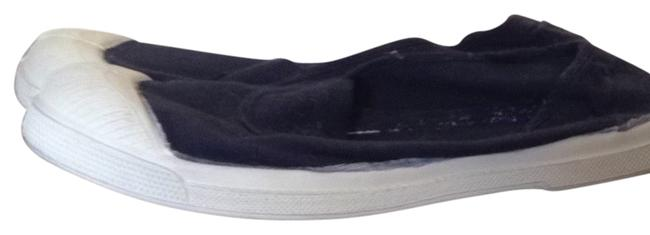 Item - Navy Blue Canvas Flats Size US 8.5 Regular (M, B)